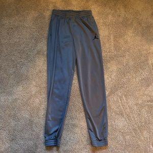 Jordan Grey Athletic Sweatpants - Boys